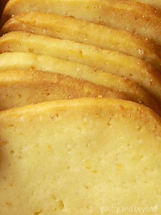 Lemon Slice-and-Bake Cookies - Pastry & Beyond