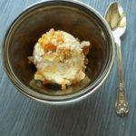 No Churn Caramelized Hazelnuts Ice Cream