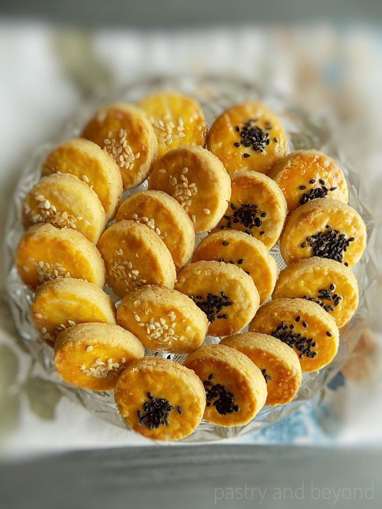 Crunchy Savory Cookies